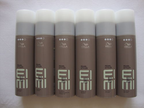 6 x Wella EIMI Pearl Styler Styling Gel 100 ml vm. High Hair